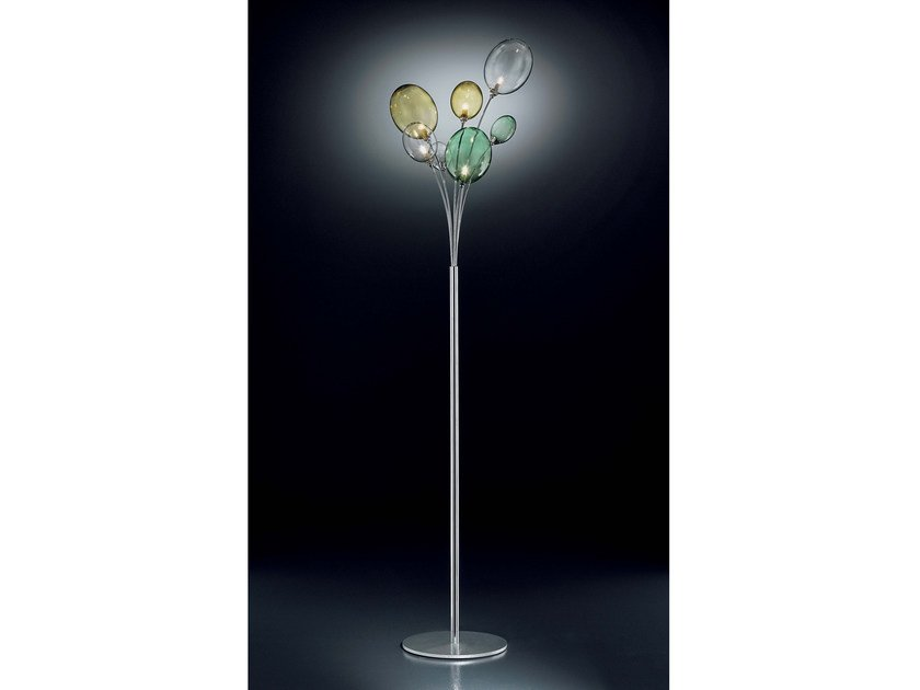 Direct light Pyrex® floor lamp BOLLA | Floor lamp - IDL EXPORT