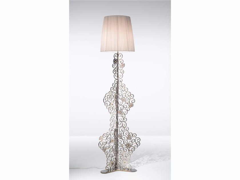 Metal floor lamp with Swarovski® crystals CRYSTAL MARINE | Floor lamp - IDL EXPORT