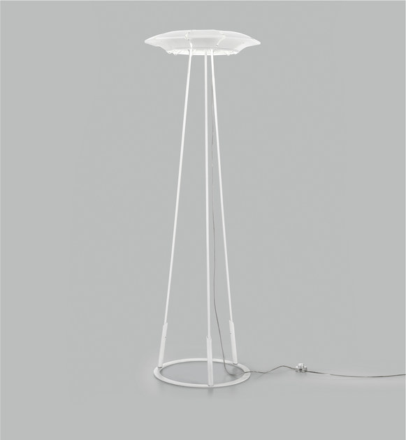 LED plate floor lamp CLOVY | Floor lamp - Metal Lux di Baccega R. & C.