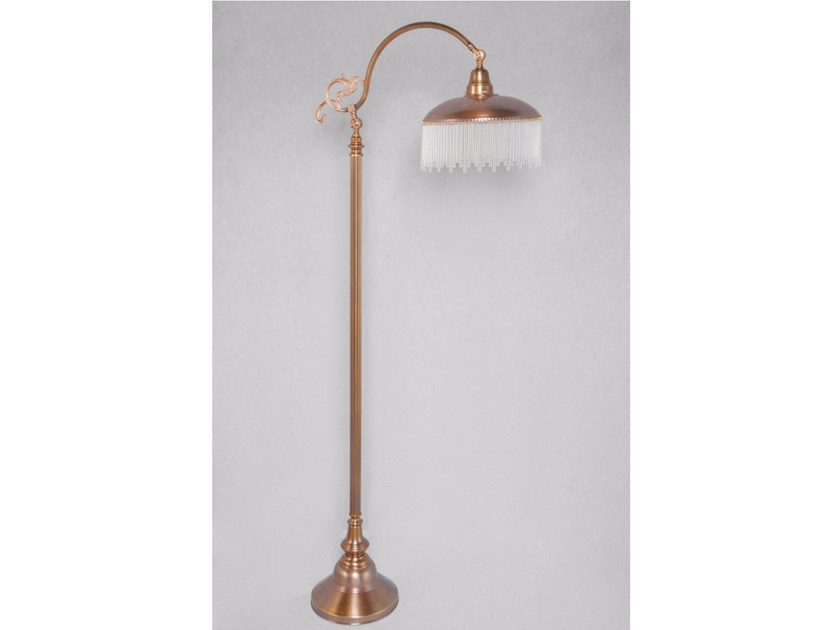 Direct light handmade brass floor lamp SOPRON | Floor lamp by Patinas Lighting