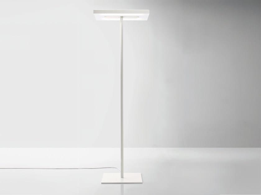 Aluminium floor lamp LINEA | Floor lamp - Quadrifoglio Sistemi d'Arredo