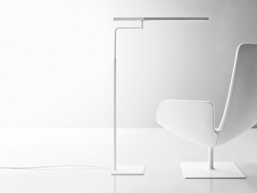 Adjustable floor lamp MINISTICK   Floor lamp - Quadrifoglio Sistemi d'Arredo