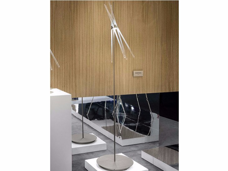 LED glass floor lamp ESSENCE PT - Vetreria Vistosi