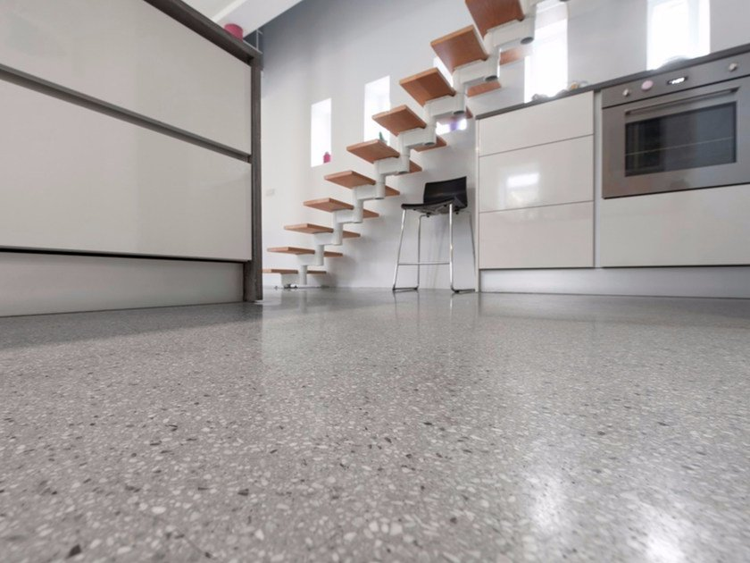 Indoor/outdoor flooring with granite effect BEALSTONE | Flooring - BEAL International