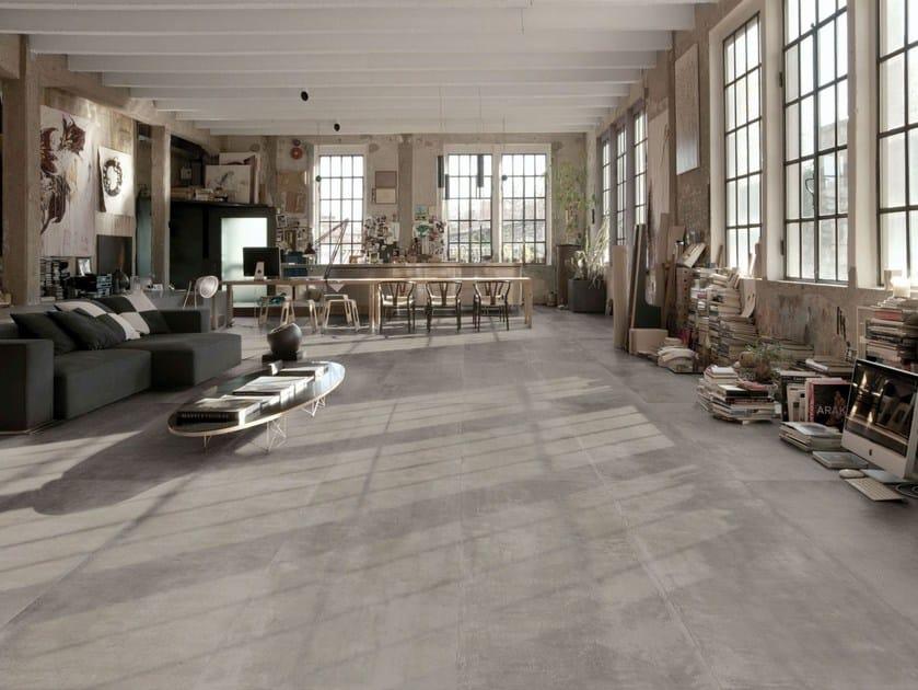 Porcelain stoneware wall/floor tiles with concrete effect MEMENTO | Wall/floor tiles by MARAZZI