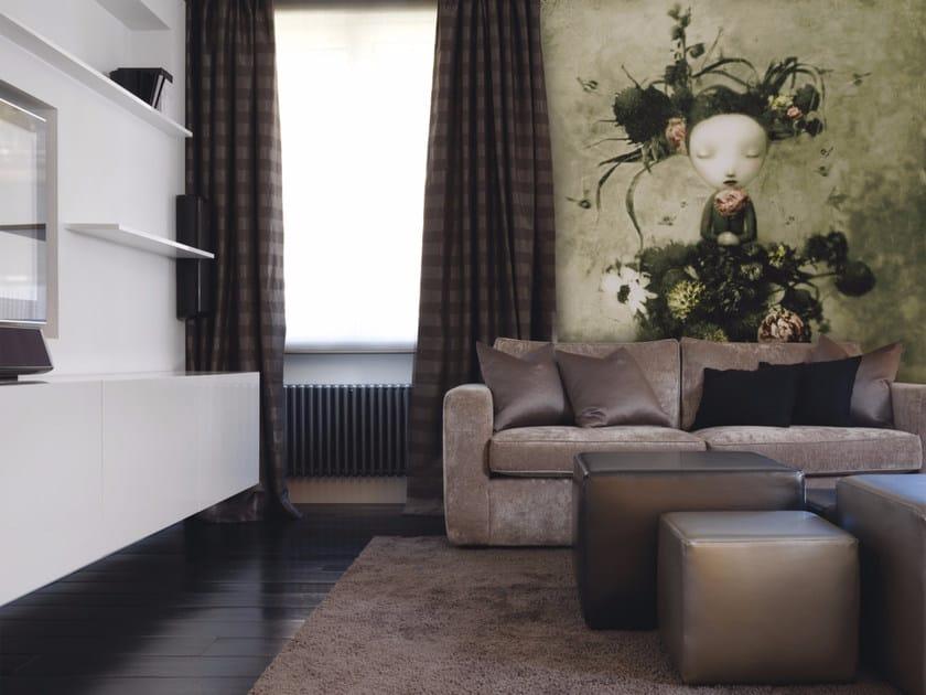 Artistic wallpaper FLORA - Inkiostro Bianco