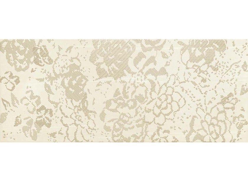 White-paste wall tiles FLOREALE CREAM - CERAMICHE BRENNERO