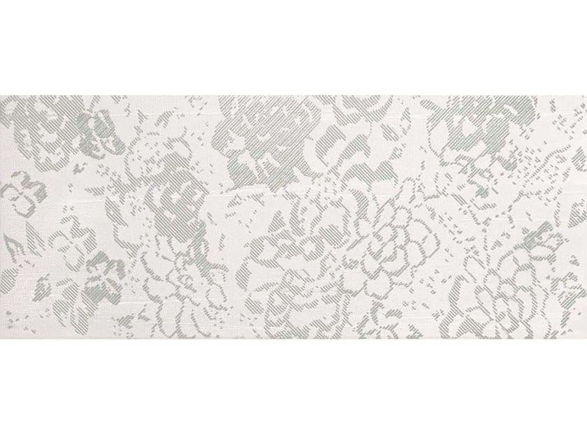White-paste wall tiles FLOREALE WHITE - CERAMICHE BRENNERO