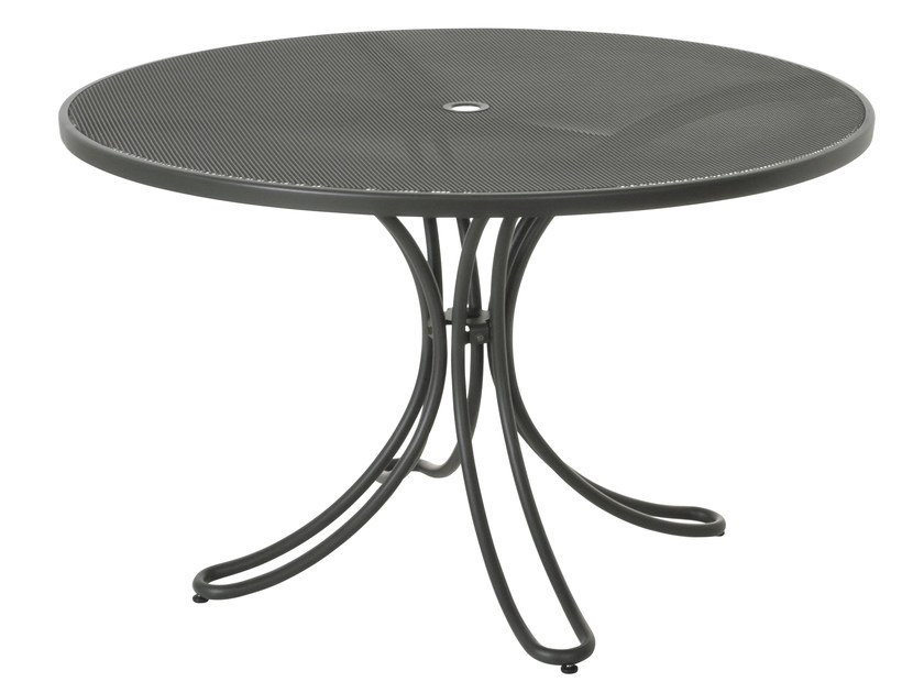Round steel garden table FLORENCE | Round table by emu