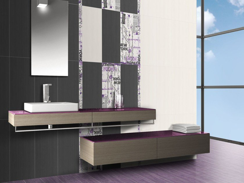 White-paste wall tiles FLOU - CERAMICHE BRENNERO