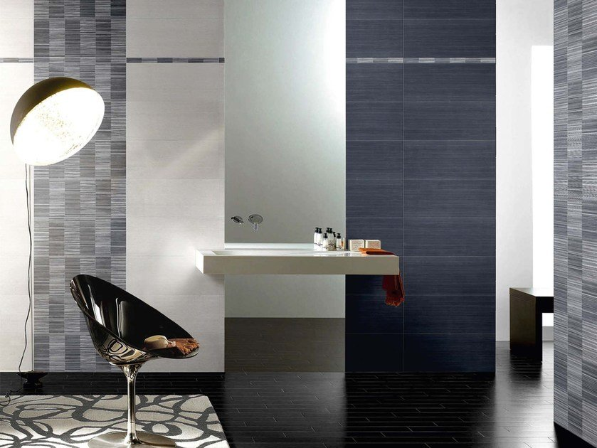 Indoor white-paste wall tiles FLOU MIXER by CERAMICHE BRENNERO