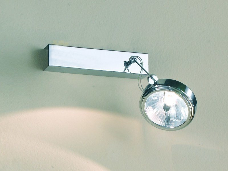 Adjustable metal spotlight with dimmer FLOW 01 by LUCIFERO'S