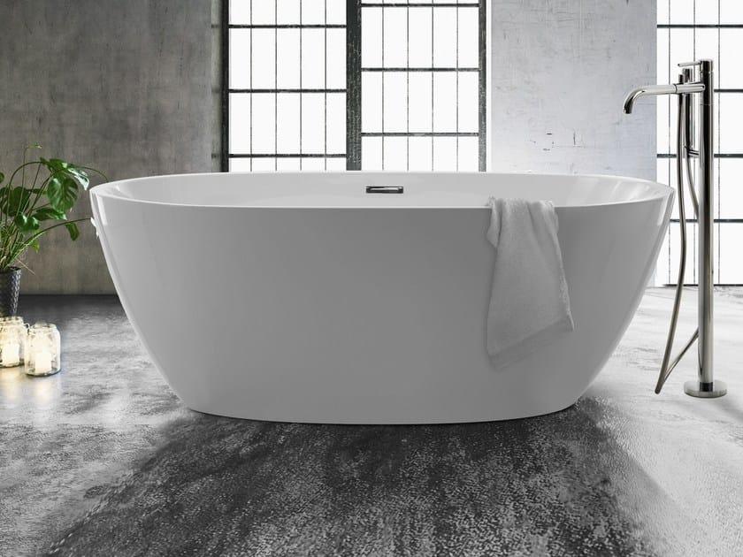 Vasca da bagno ovale in acrilico flow galassia - Vasca da bagno ovale ...