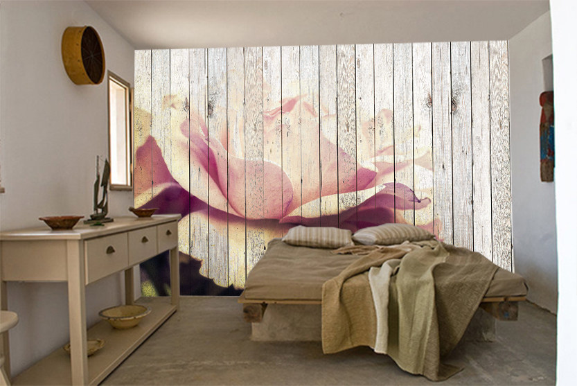 Wallpaper with floral pattern FLOWER by Creativespace