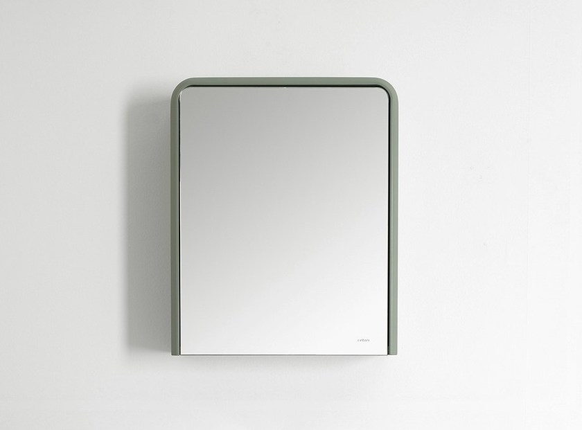 Wall cabinet with mirror FLUENT | Wall cabinet - INBANI