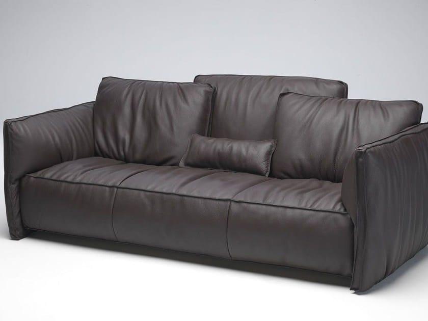 Sectional leather sofa FLUON | Leather sofa - Paolo Castelli