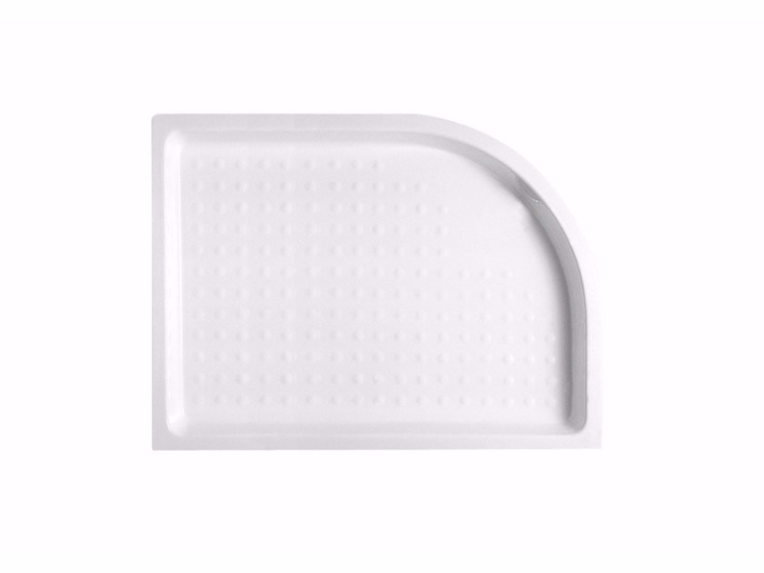 Anti-slip ceramic shower tray Flush fitting shower tray - Hidra Ceramica