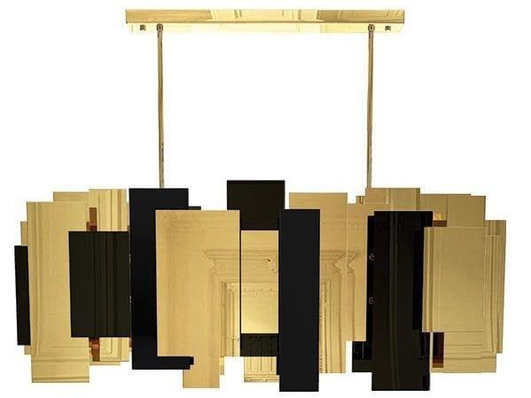 Brass pendant lamp FO TAN | Pendant lamp - CreativeMary