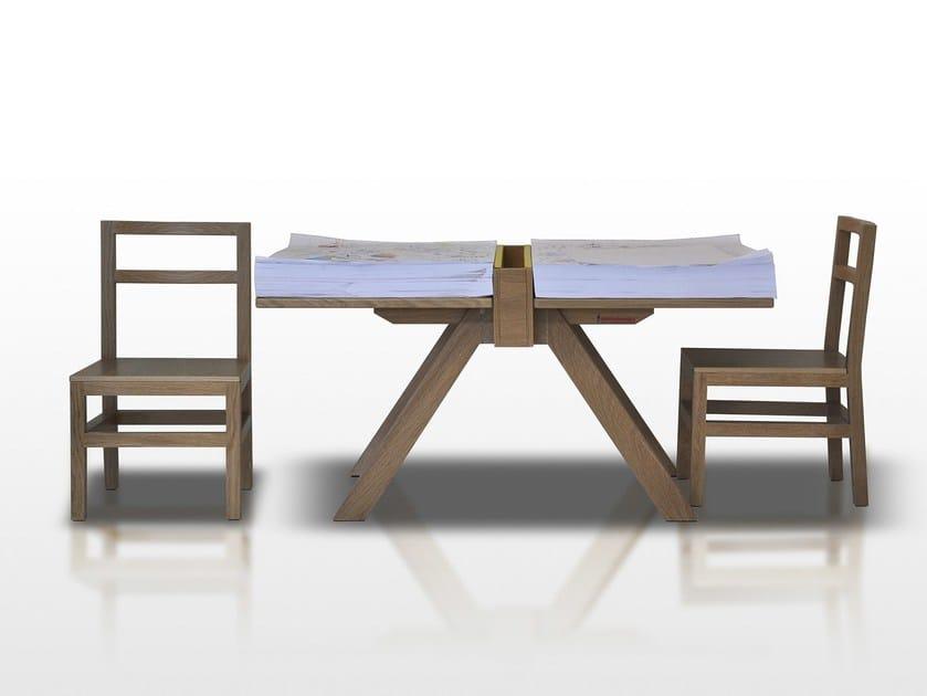 Ash kids table FOGLIO - Paolo Castelli