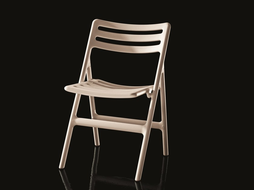 Folding polypropylene chair FOLDING AIR-CHAIR | Folding chair by Magis