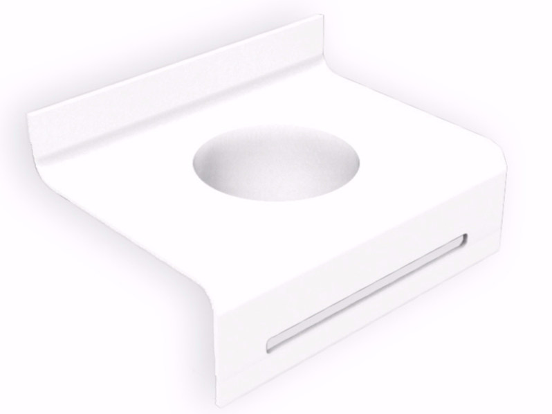 Inset Corian® washbasin FOLHA | Round washbasin by AMA Design