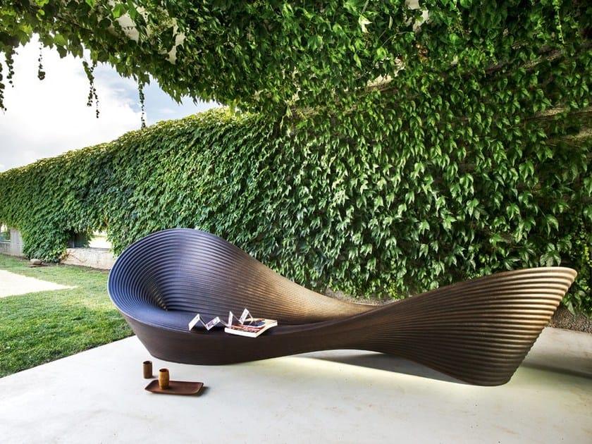 Polyethylene outdoor chair FOLLY - Magis