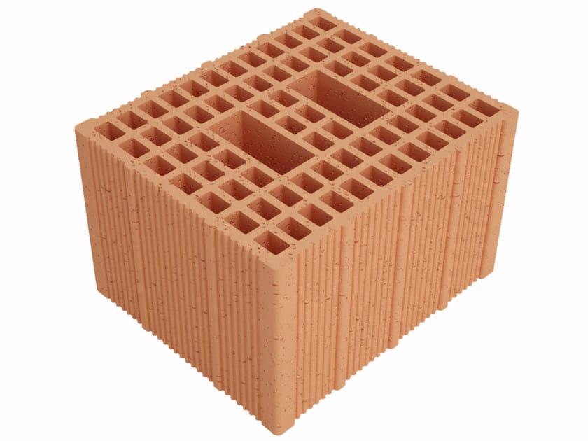 Clay building block Fonomur RW300 S30 by Fornaci Ioniche