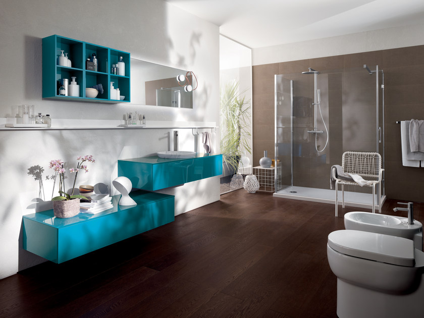 Bathroom furniture set FONT by Scavolini Bathrooms