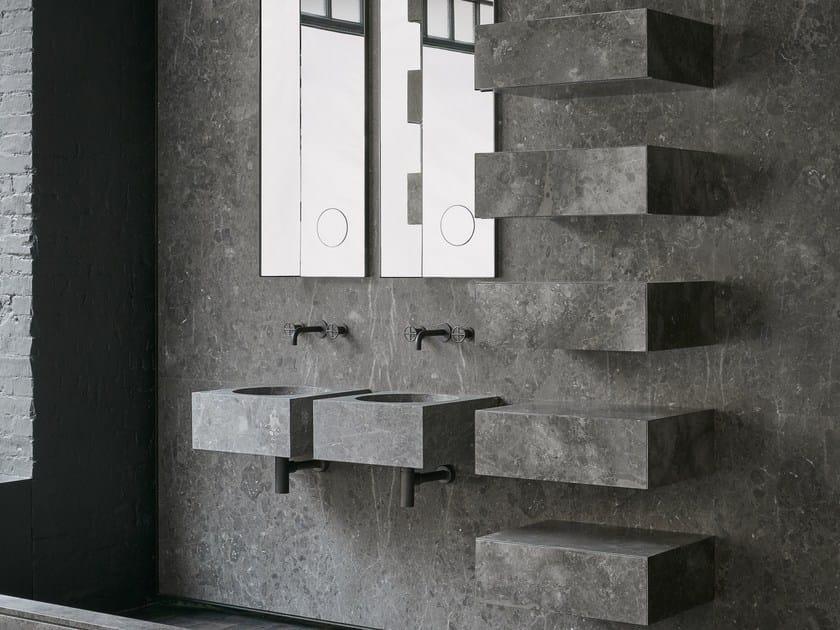Wall-mounted modular drawers CIANE | Modular drawers by SALVATORI