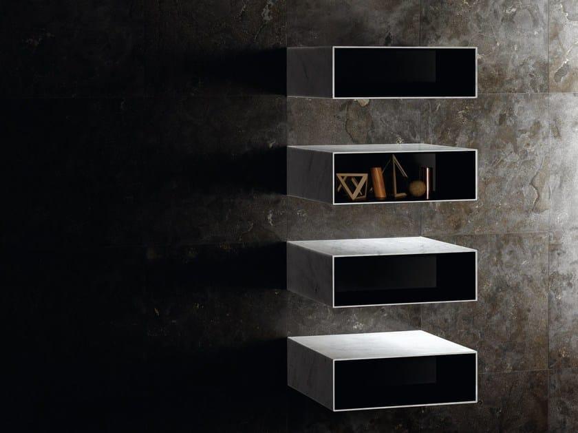 Natural stone wall shelf CIANE   Floating shelves by SALVATORI