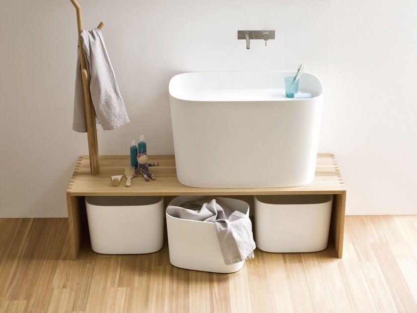 Elm bench for bathroom FONTE | Bench for bathroom - Rexa Design