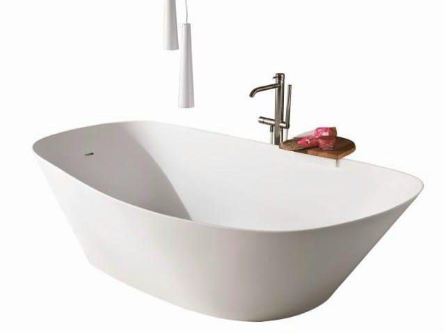Fonte vasca da bagno centro stanza by rexa design design monica graffeo - Vasca da bagno ovale ...
