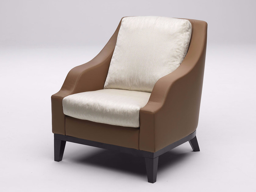 Upholstered armchair with armrests FOR HALL | Armchair - Paolo Castelli