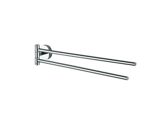 Swivel chromed brass towel rack FORUM | Swivel towel rack - INDA®