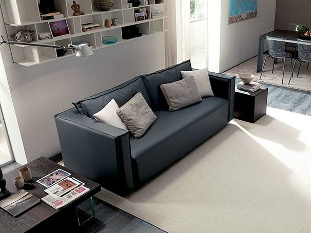 Convertible 3 seater sofa FOUR SEASON - Ozzio Italia