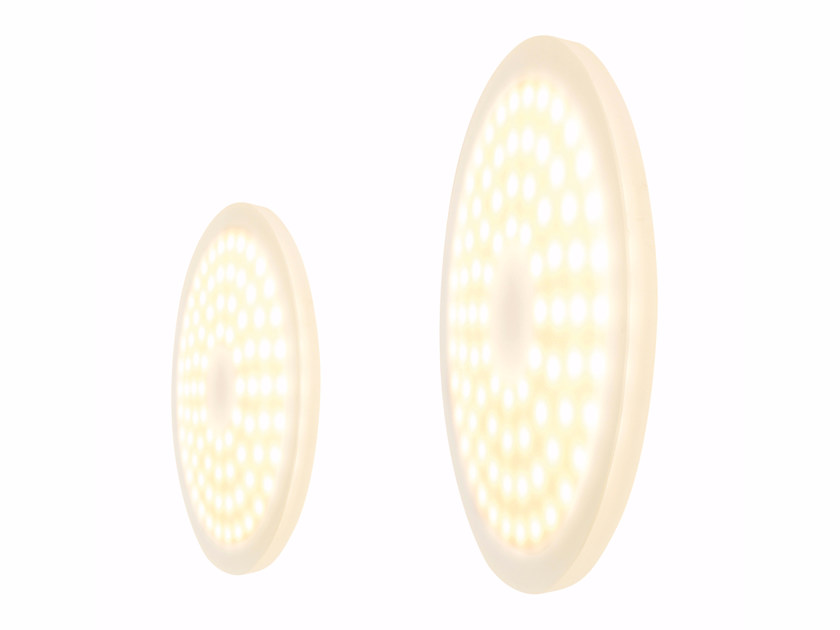 Contemporary style LED wall lamp FOXX ROUND | Wall lamp - Top Light
