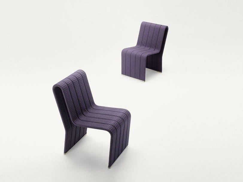 Fabric garden chair FRAME | Garden chair by Paola Lenti