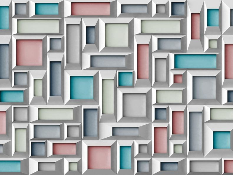 Motif wallpaper FRAMEWORK - Wallpepper