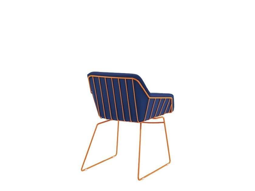 Sled base reception chair FRANK | Reception chair - Sesta