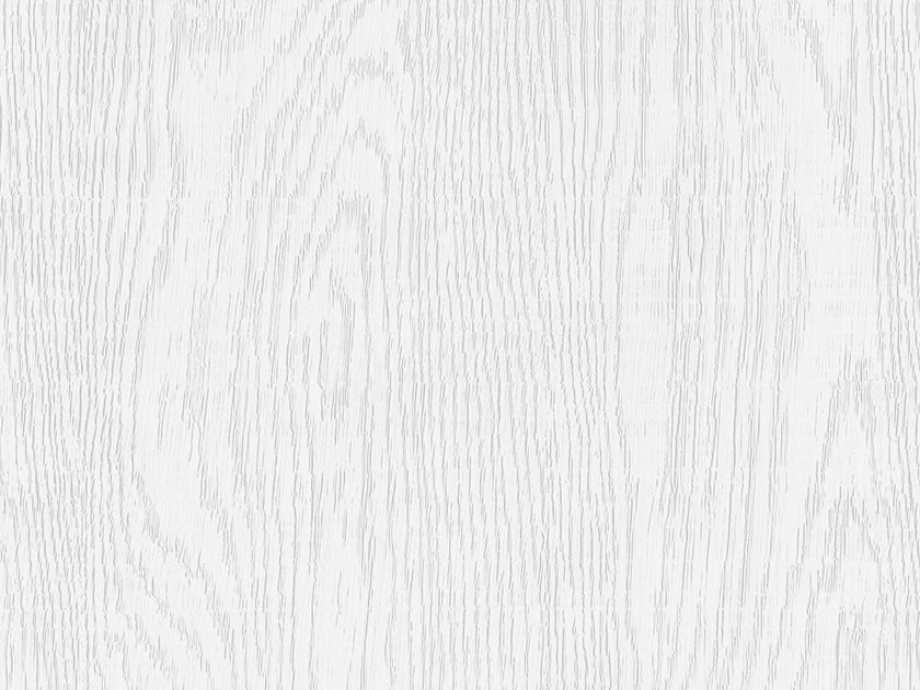 Self adhesive plastic furniture foil with wood effect ABSOLUTE WHITE ASH OPAQUE by Artesive