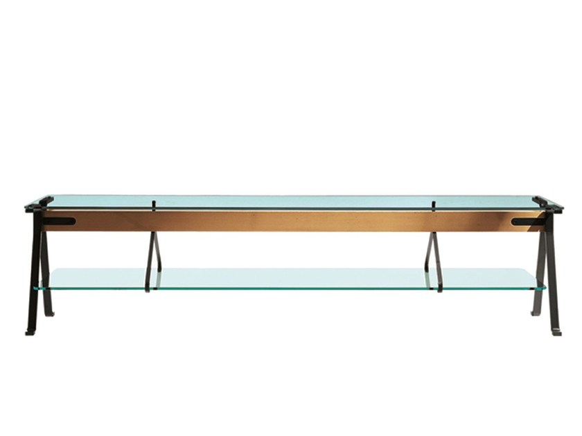 Low rectangular table FRATELLO - Driade