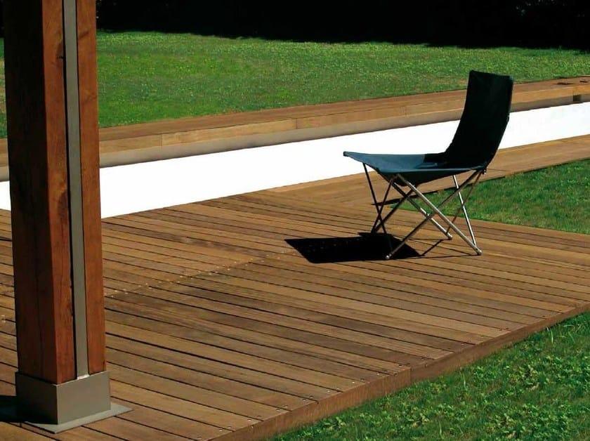 Ipe wood decking FREE TIME IPÈ - GAZZOTTI