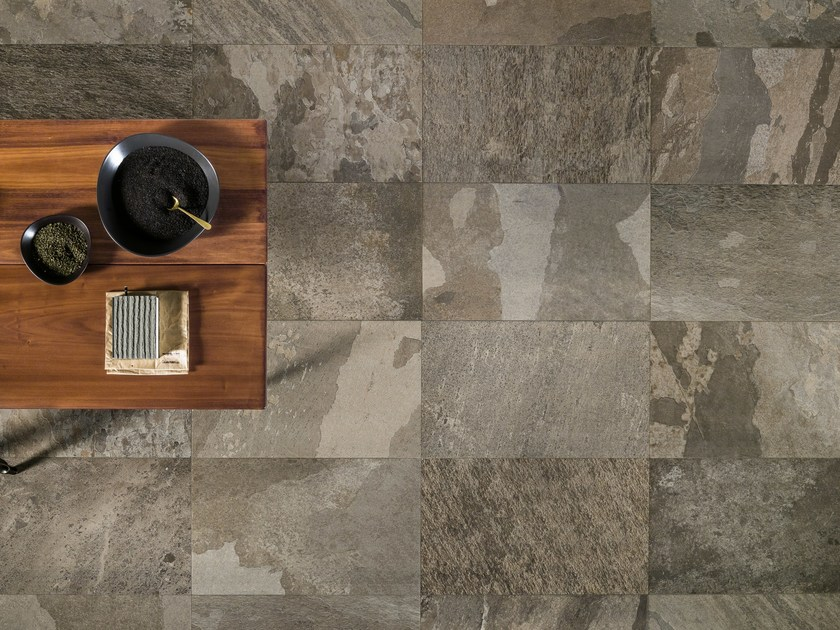 Porcelain stoneware wall/floor tiles with stone effect FREESTONE SHADOW - ASTOR CERAMICHE