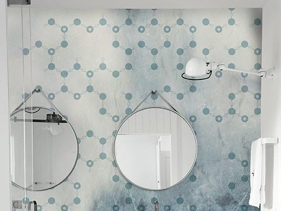 Motif bathroom wallpaper FROZEN - Wall&decò