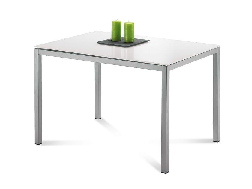 Extending rectangular table FULL - DOMITALIA