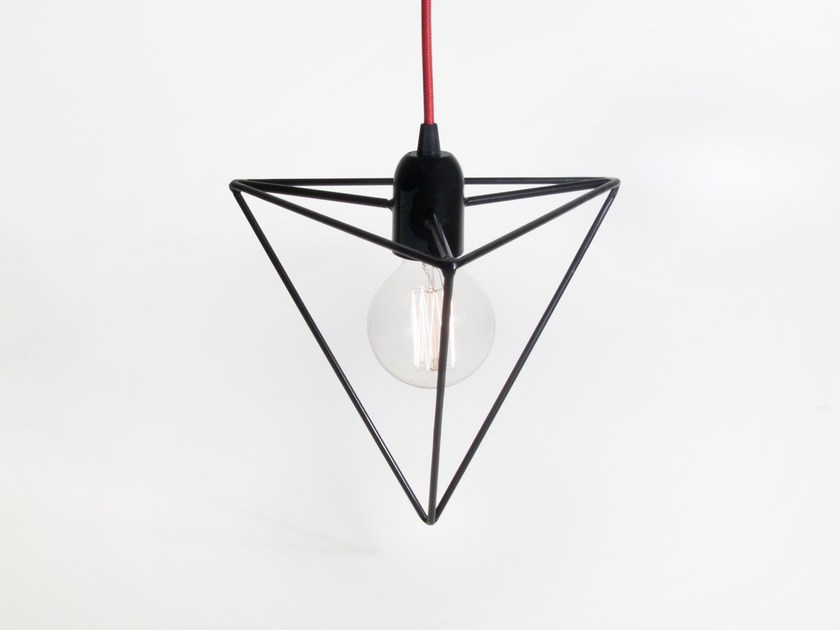 Direct light incandescent iron pendant lamp FUOCO | Iron pendant lamp by bigdesign