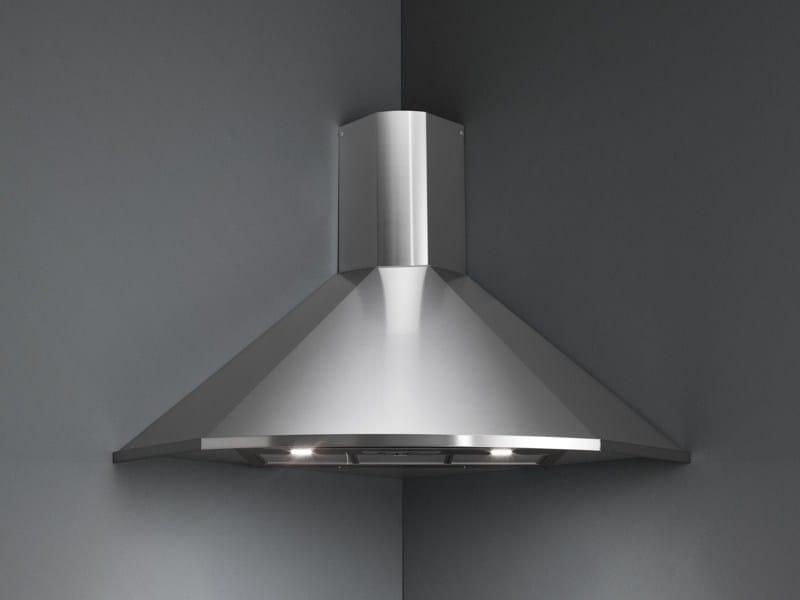 Corner stainless steel cooker hood FUTURA ANGOLO - Falmec
