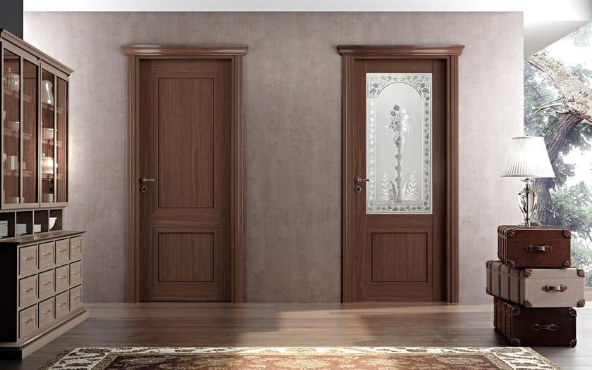 Hinged wooden door GAIA | Hinged door - Pail Serramenti