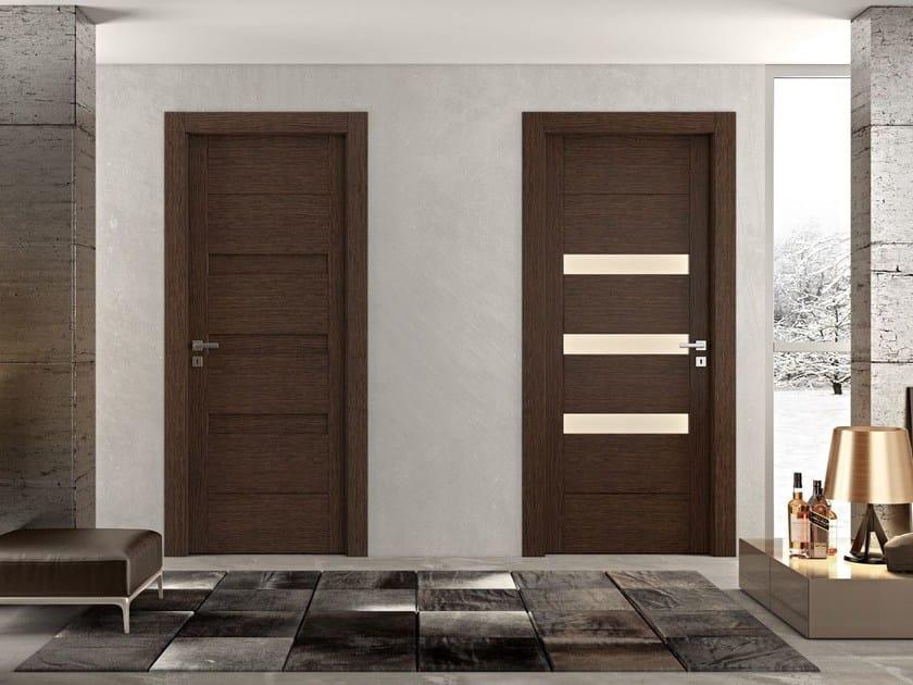 Hinged wooden door GAIA | Wooden door - Pail Serramenti