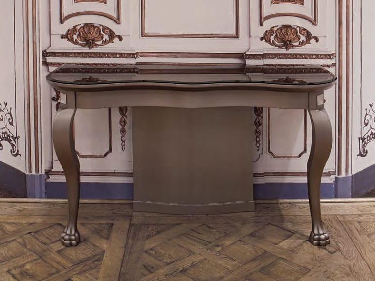 Consolle laccata in legno GALEAZZO | Consolle - Formitalia Group